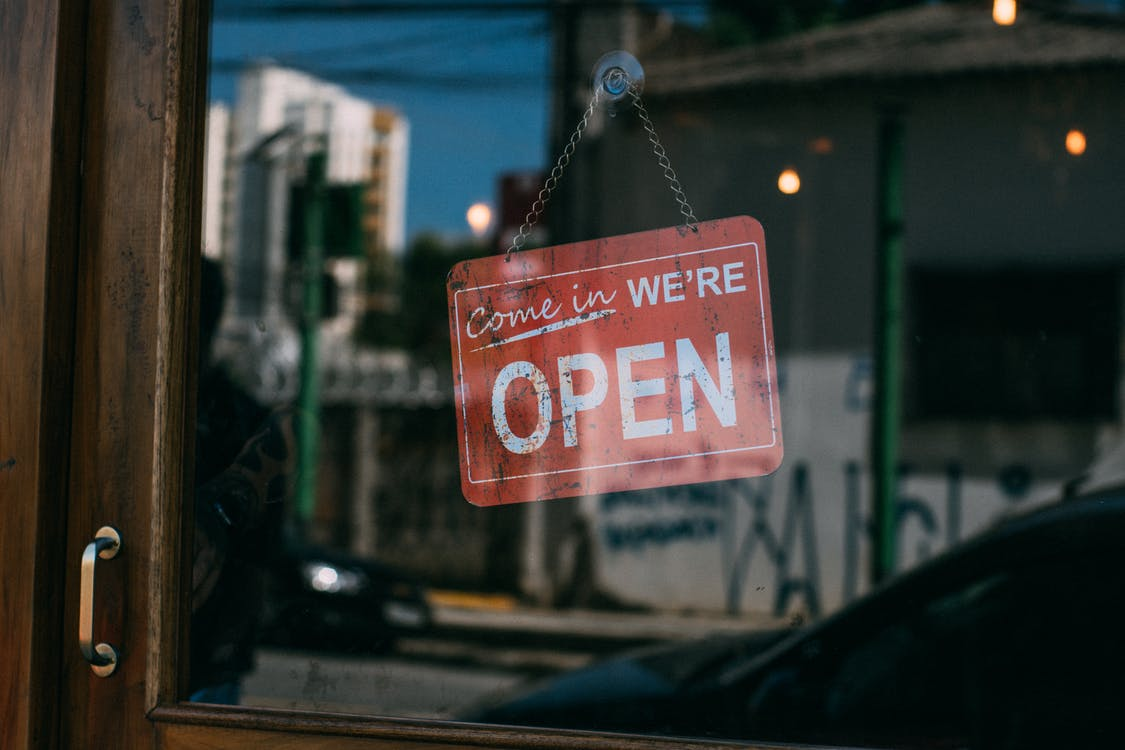 As the situation stabilizes businesses can recover by inspiring customer confidence - and brand signs can help with this.