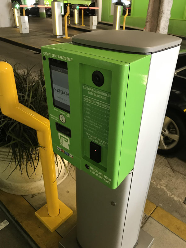 Entry and Exit Kiosk Wrap in Full Color Green