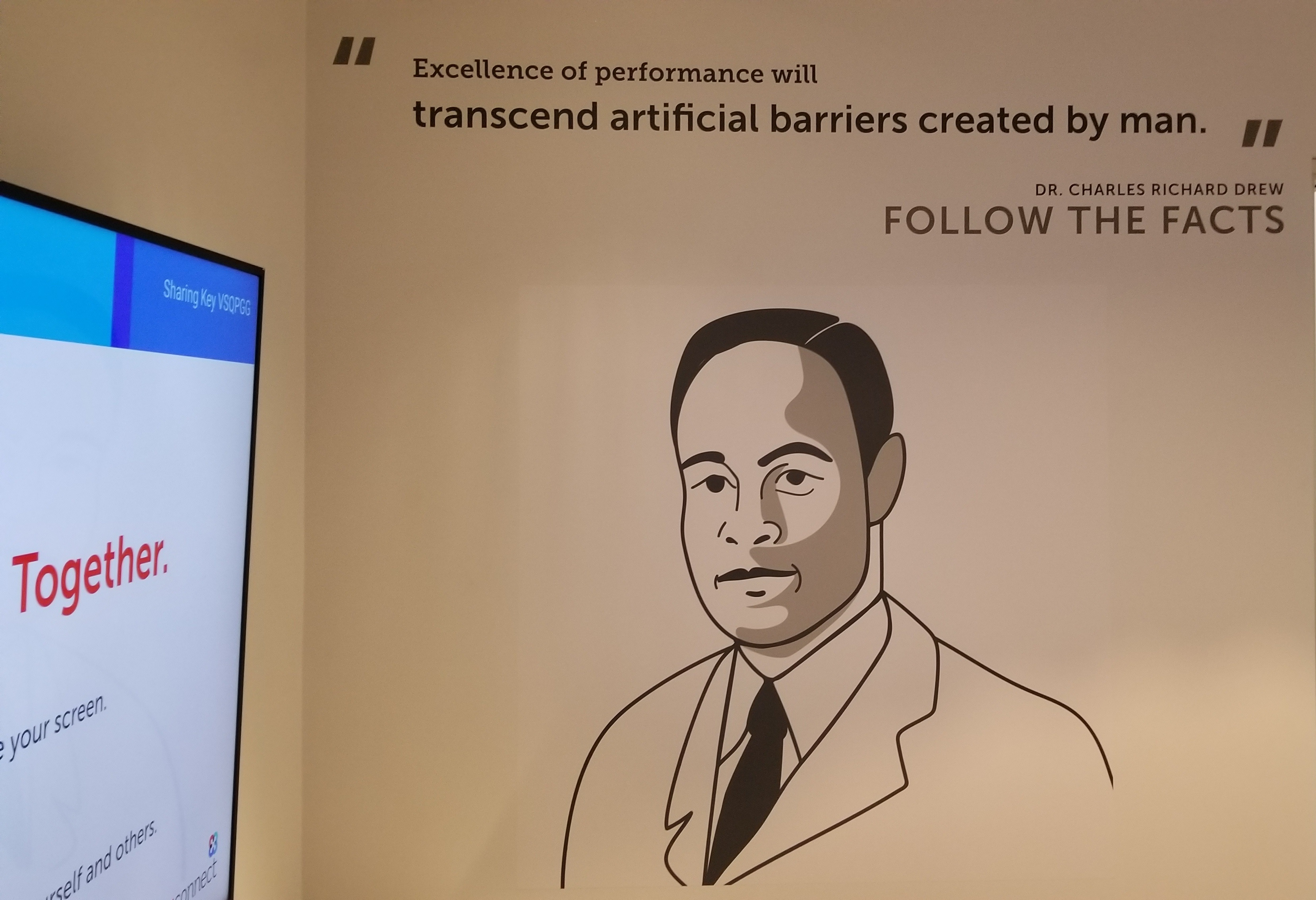 Inside TigerConnect's conference rooms, we installed inspiring wall graphics displaying portraits of the healthcare pioneer each room is named for.