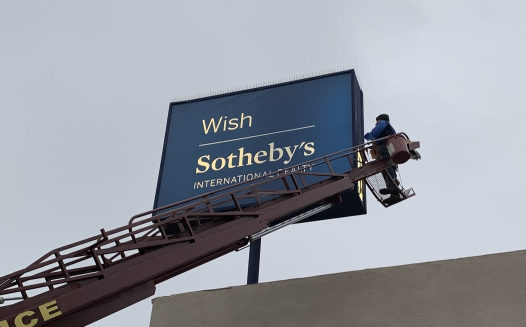 For 2021, attract good vibes (and customers) with pristine-looking signage. Schedule sign maintenance to make sure those illuminated signs are functioning properly and not flickering. Address the effects of wear and tear. Get sign cleaning so your outdoor signs will be spotless and shiny.