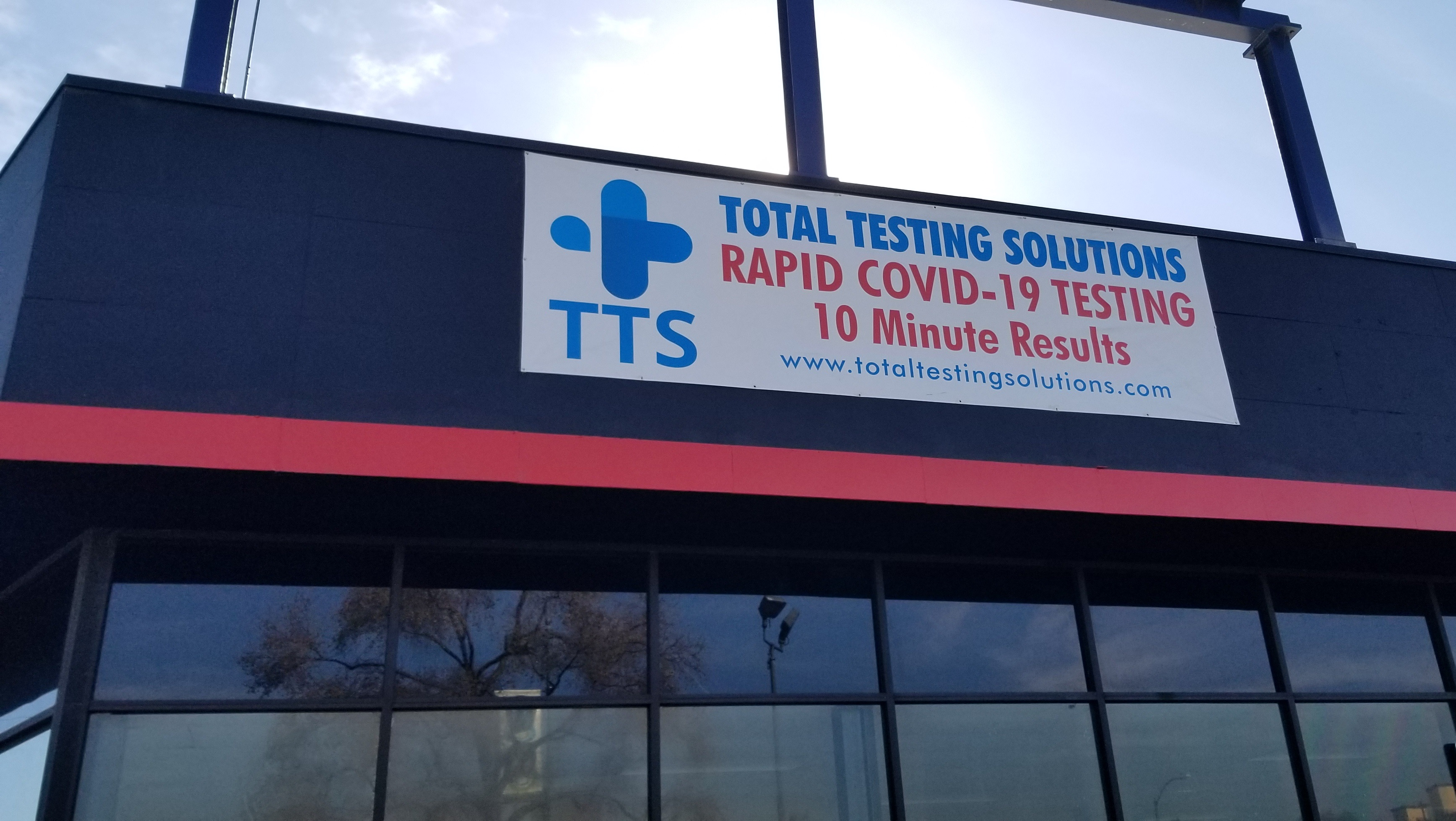 Clinics and facilities can boost visibility with testing center banners, people can see what is being offered and will be encouraged to drop in for a test.