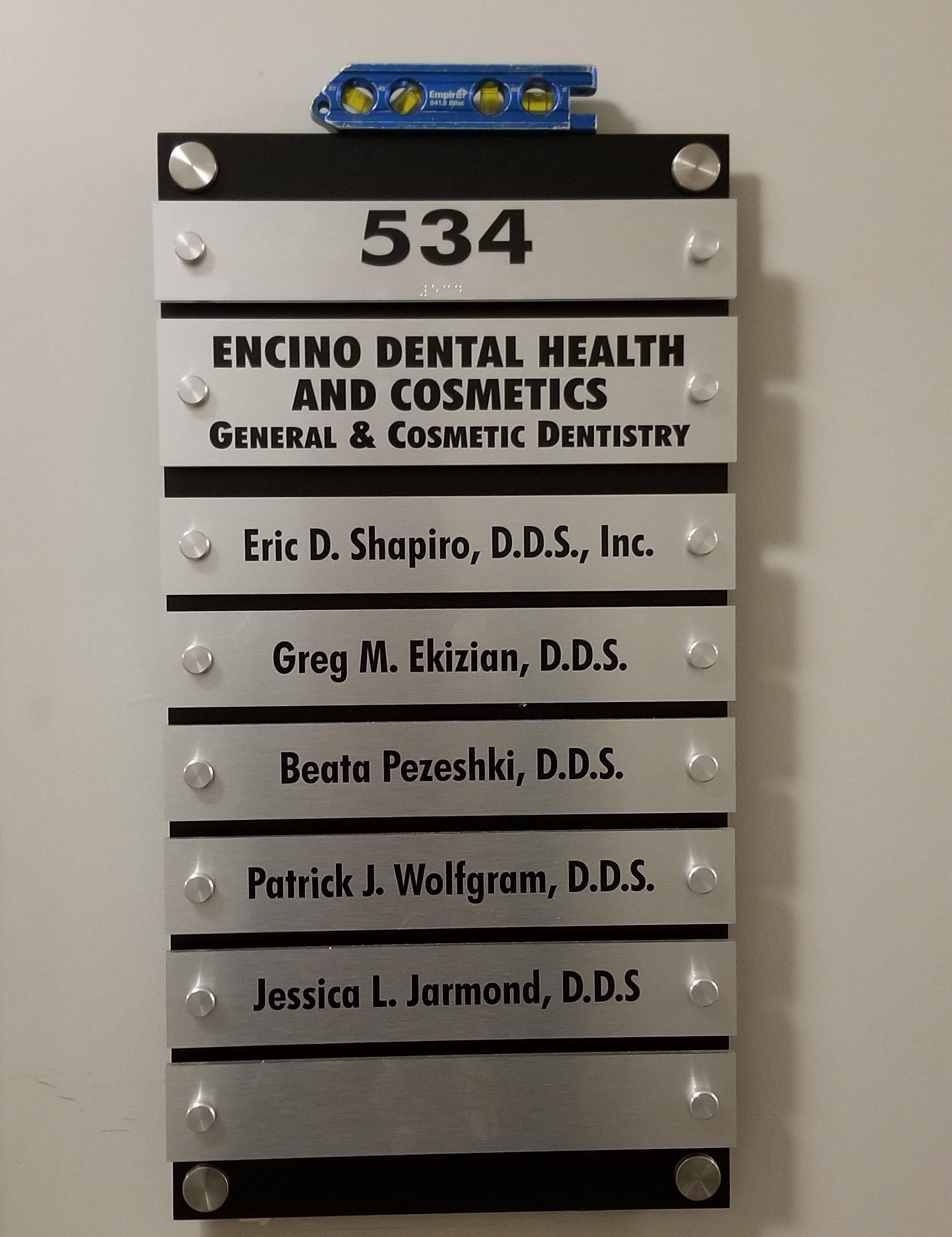 Indoor medical office signs give useful directions to patients and employees alike.