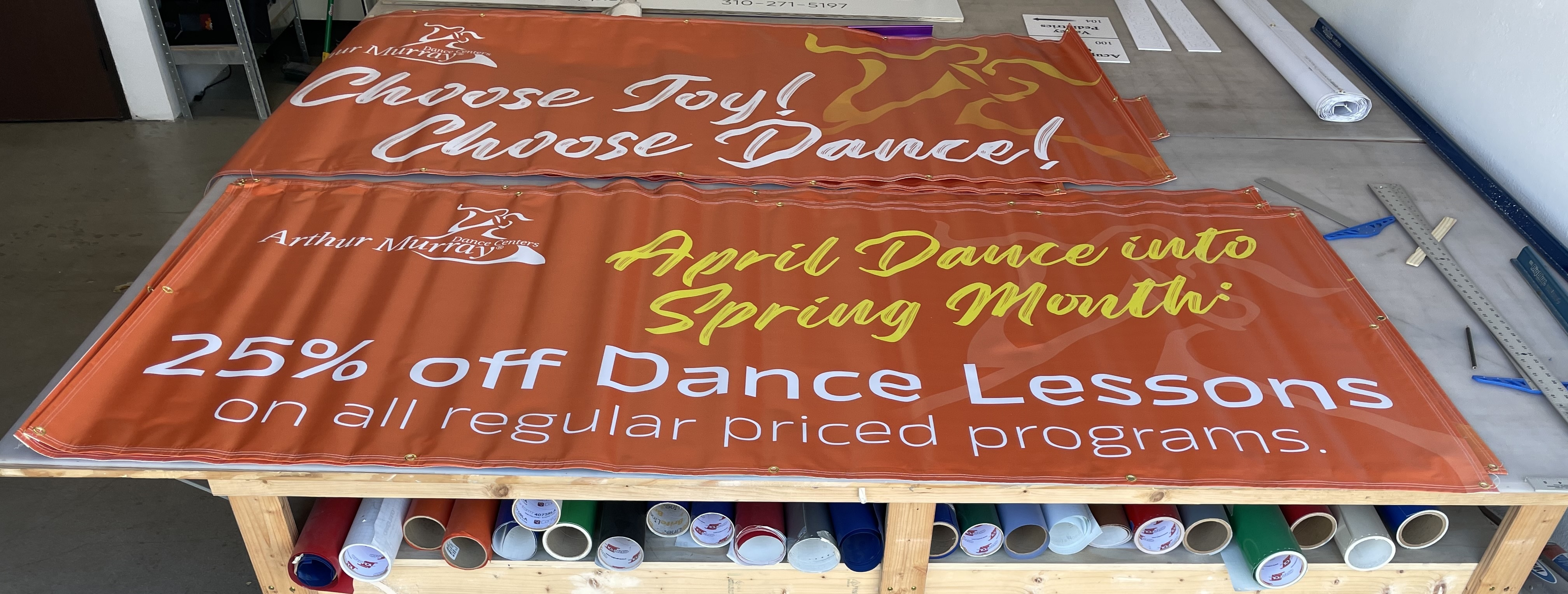 As Arthur Murray prepares to re-open, they created a multi-banner campaign. With this they will attract customers to their Woodland Hills and Thousand Oaks locations.