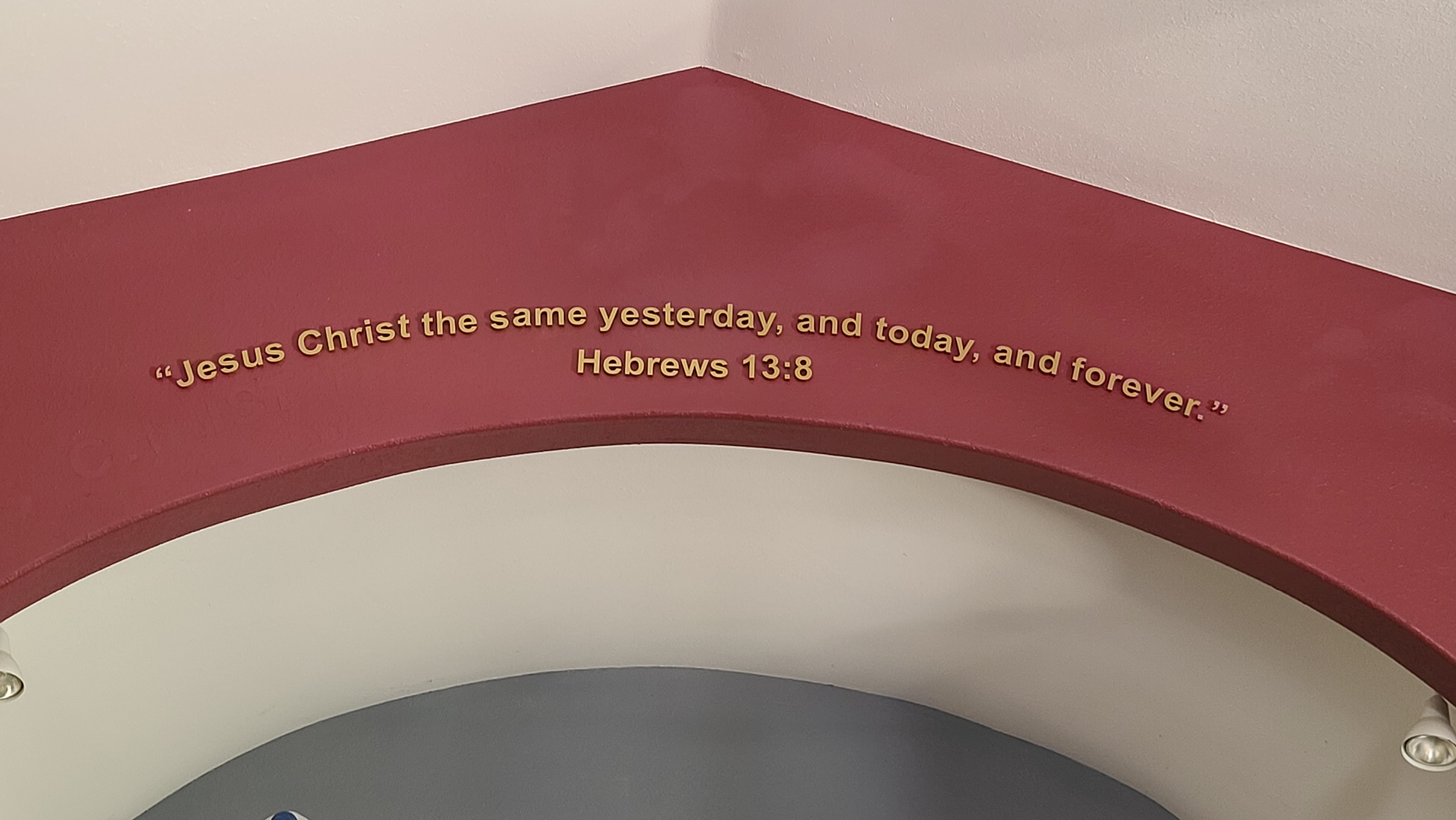 Dimensional letters for Living Word Church in Perris, the church signs is situated at their entrance and display a Bible verse.