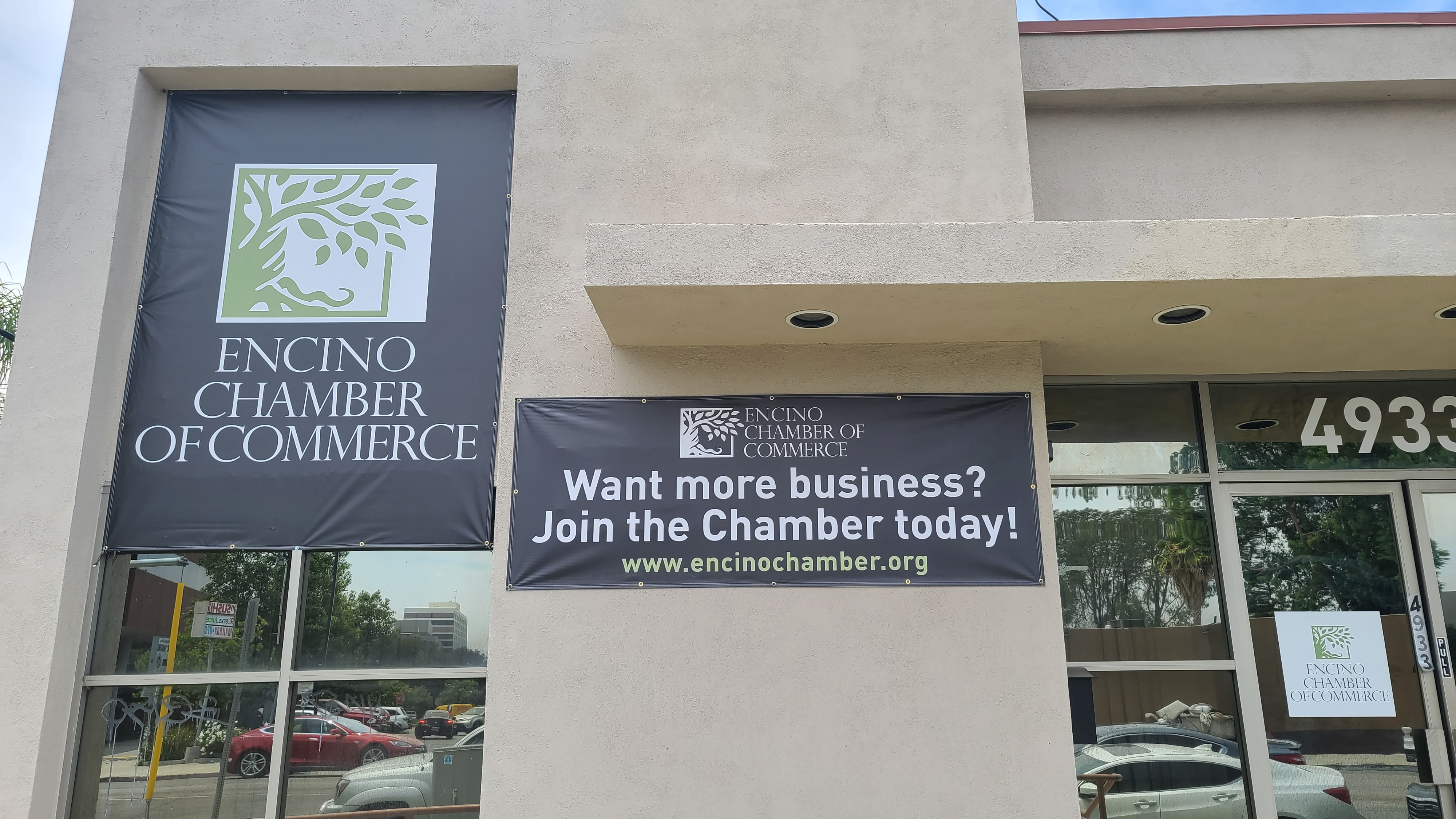 These are the advertisement banners we created for Encino Chamber of Commerce's campaign.