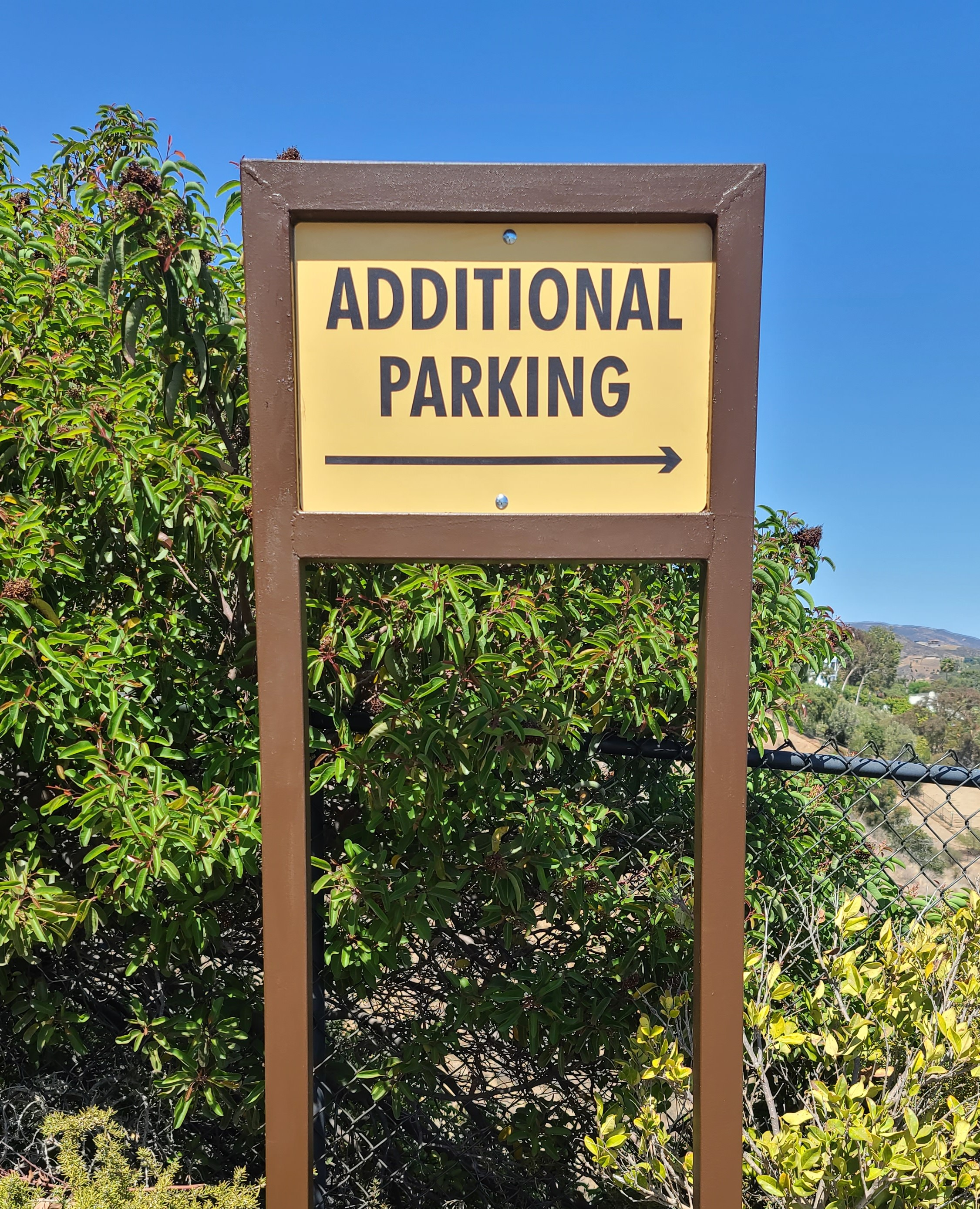 These additional parking signs for Malibu Pacific Church are part of our comprehensive sign package, helping visitors find space for their vehicles.