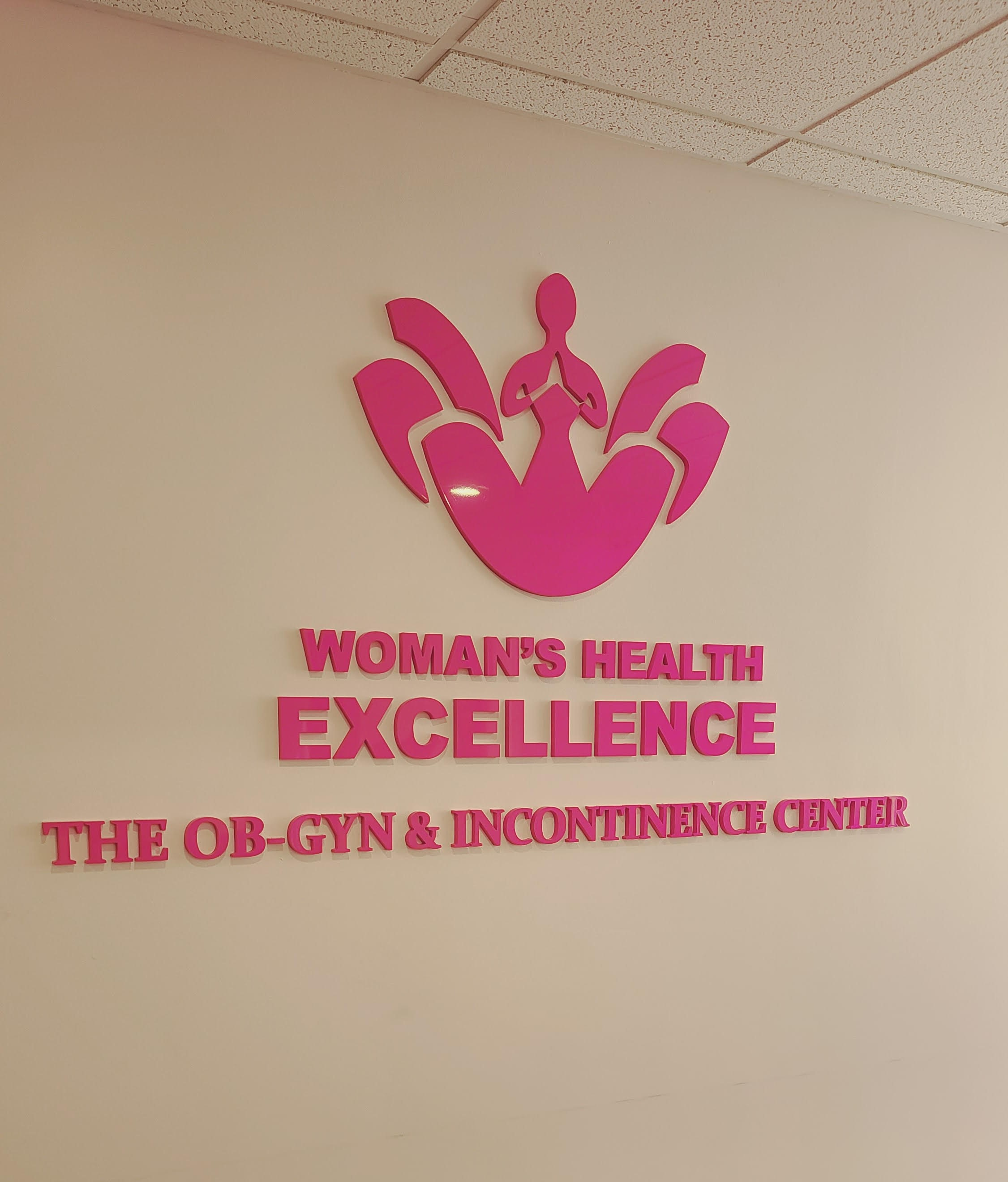 We fabricated and installed this eye-catching acrylic clinic sign for The OB-Gyn and Incontinence Center in Arcadia.