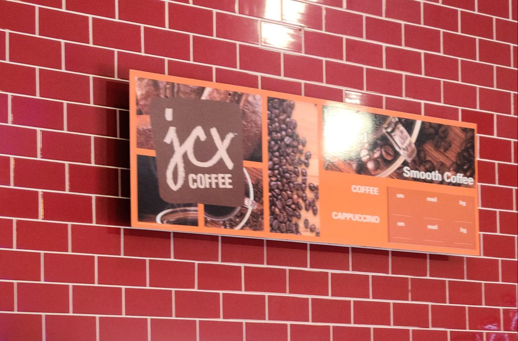 We installed this menu sign for Bewley's Java City establishment in Santa Monica. With this, customers can see the flavorful varieties of coffee the establishment is offering.